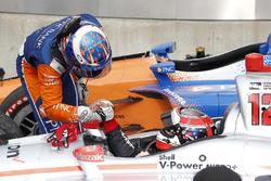 1. Will Power, Team Penske Chevrolet; 2. Scott Dixon, Chip Ganassi Racing Honda