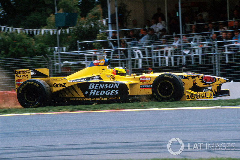 Ralf Schumacher, Jordan Mugen Honda 198