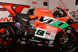 Nuova livrea 2016 del team VTF Racing