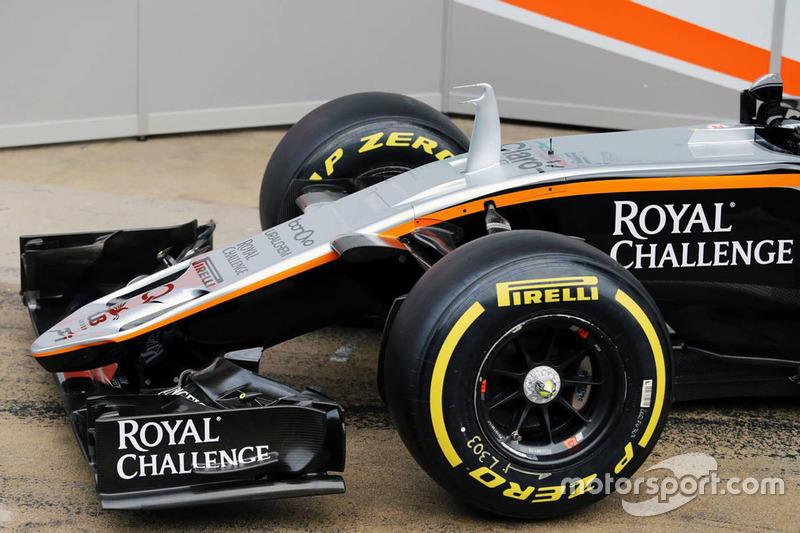Detalhe Sahara Force India F1 VJM09