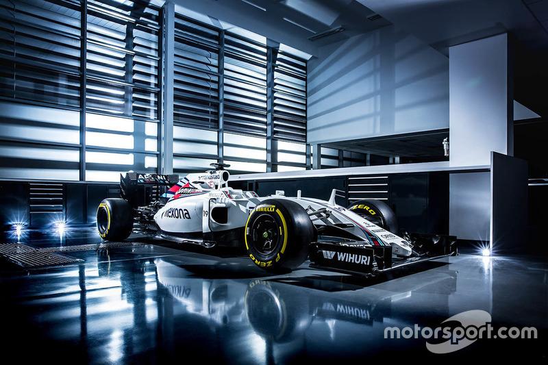 Felipe Massa, Williams FW38 livery