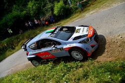 Corrado Fontana, Nicola Arena, Hyundai i20 WRC