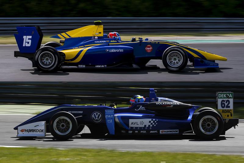 Une GP3 avec une F3