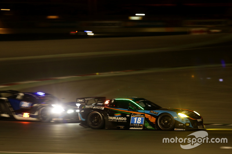 #18 V8 Racing Chevrolet Corvette C6-ZR1: Wolf Nathan, Rick Abresch, Loris Hezemans