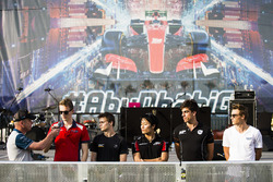 Emil Bernstorff, Arden International, Louis Delétraz, Carlin, Nobuharu Matsushita, ART Grand Prix, Daniel de Jong, MP Motorsport & Artem Markelov, RUSSIAN TIME