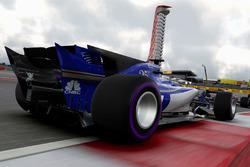 Screenshot del juego F1 2017