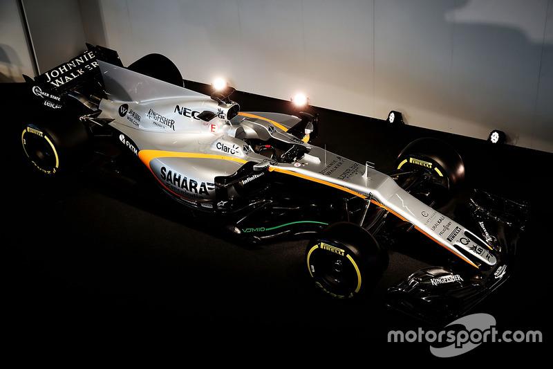 De Sahara Force India F1 VJM10
