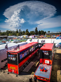 Holden Racing Team motorhome