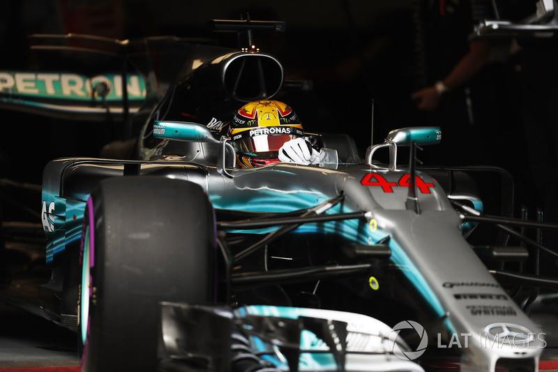 4. Льюис Хэмилтон, Mercedes AMG F1 W08