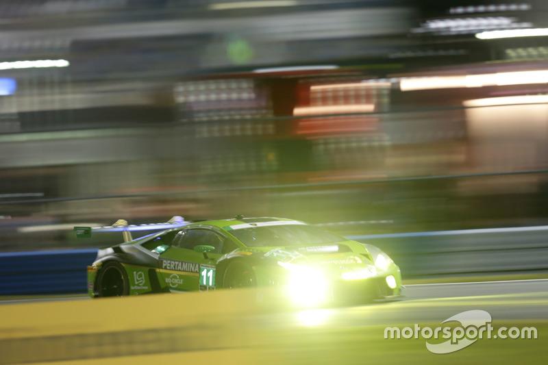 #11 GRT Grasser Racing Team Lamborghini Huracan GT3: Christian Engelhart, Rolf Ineichen, Ezequiel Pe