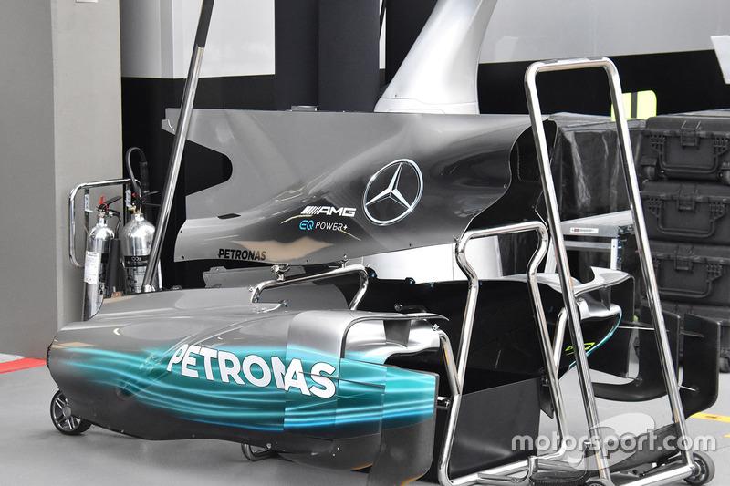 Carrosserie de la Mercedes AMG F1 W08