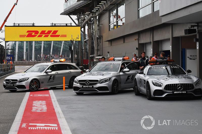 FIA Medical-Car und FIA Safety-Car