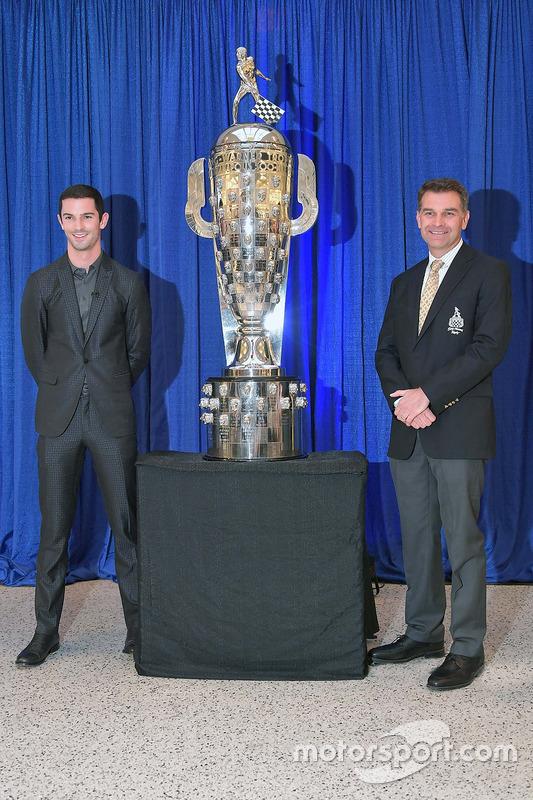 Presentación Alexander Rossi Trofeo Borg Warner
