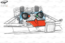 Ferrari F399 rear suspension