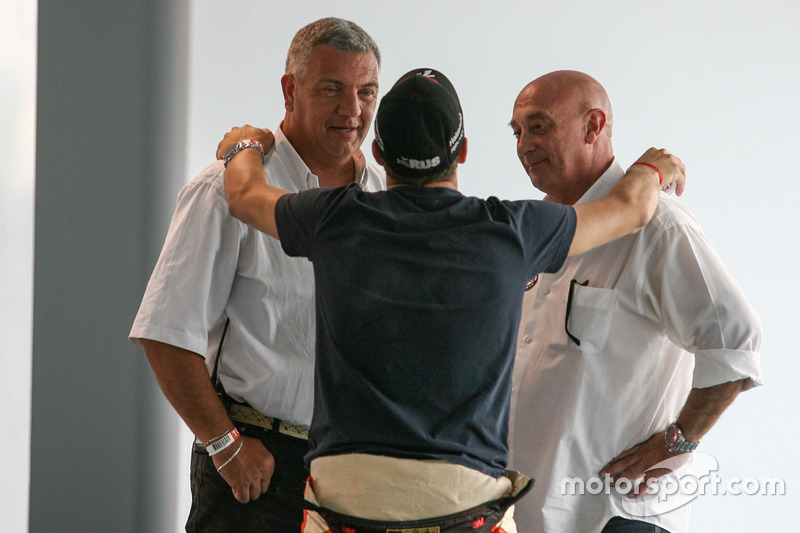 Mariano Werner, Werner Competicion Ford y Race Stewards Sergio Garone and Carlos Garrido