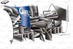Williams FW31 2009 double diffuser