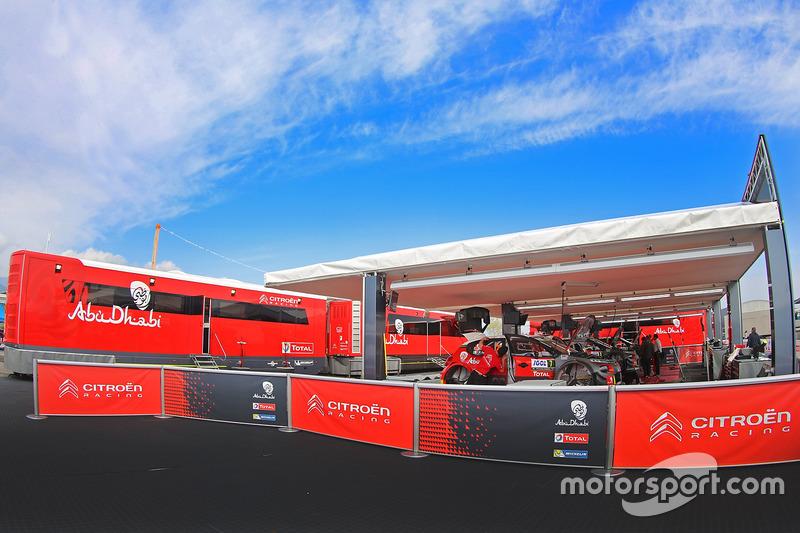 Zona de Citroën World Rally Team