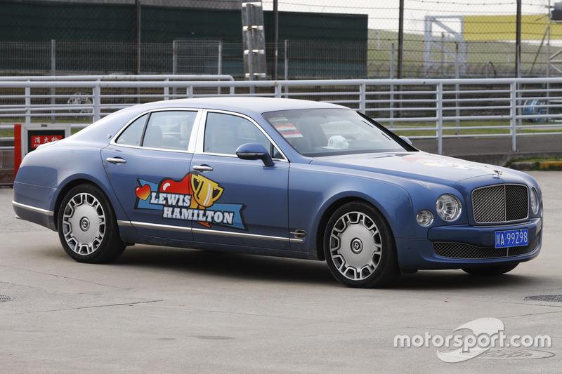 Une Bentley aux couleurs de Lewis Hamilton