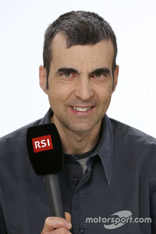 RSI, Andrea Chiesa, telecronista F1