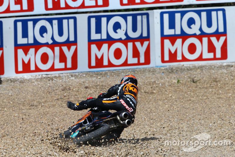 Adam Norrodin, SIC Racing Team choque