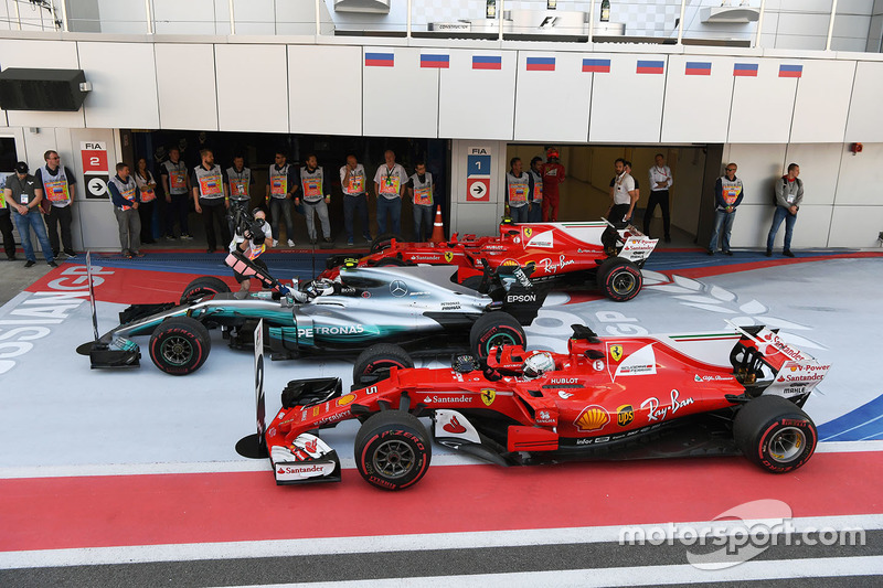 Gran Premio de Rusia: Gran Premio 960 en la historia de la F1.