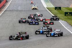 Départ : Pietro Fittipaldi, Lotus est en tête