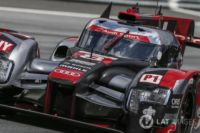 Tom Kristensen, Audi R18 on the Legends Parade