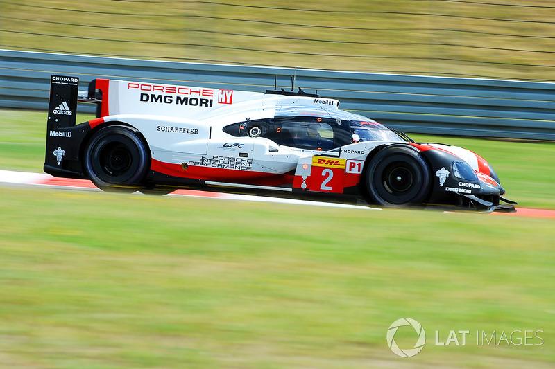 #2 Porsche Team Porsche 919 Hybrid: Ерл Бембер, Тімо Бернхард, Брендон Хартлі