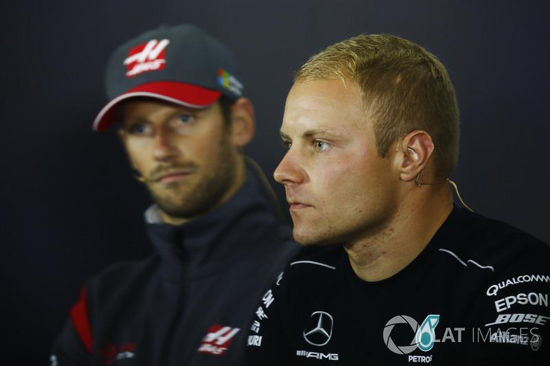 Валттері Боттас, Mercedes AMG F1, Ромен Грожан, Haas F1 Team