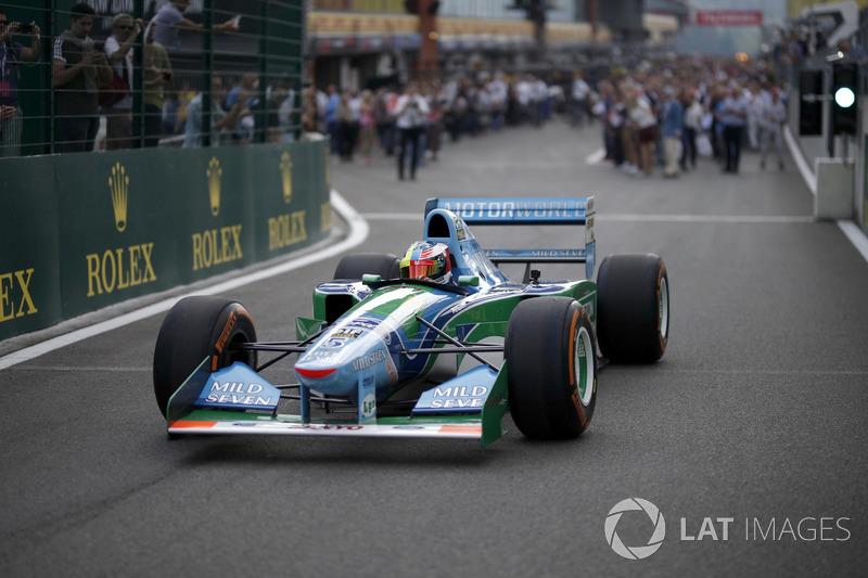Mick Schumacher en el Benetton B194-5