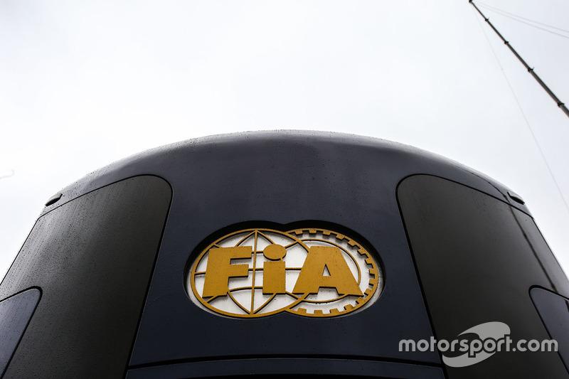 FIA Motorhome and logo