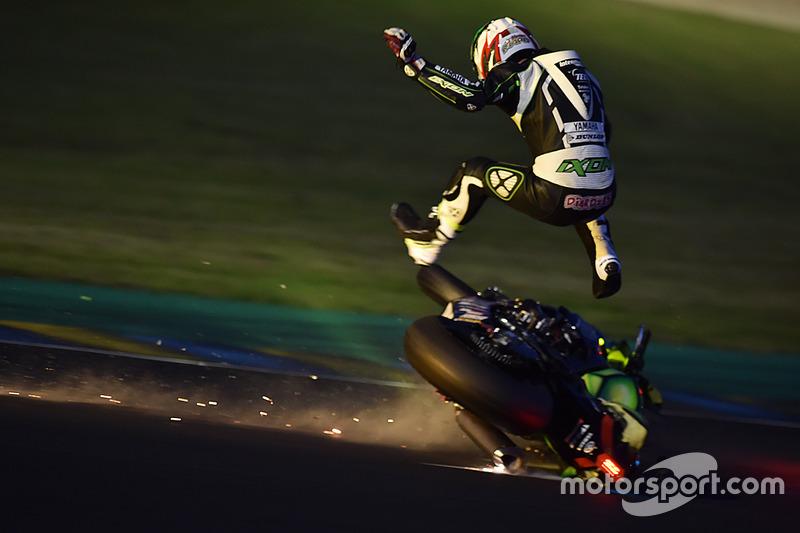 3. La caduta della Yamaha #35: Maxime Diard
