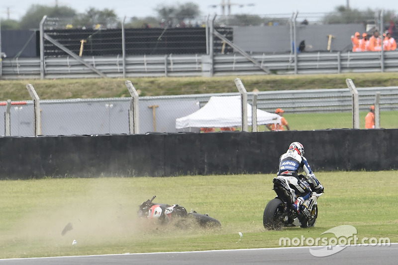 Accidente de Jorge Lorenzo, Ducati Team