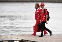 Kimi Raikkonen, Ferrari und Gino Rosato, Ferrari