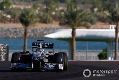 Pirelli-Reifentest in Abu Dhabi, November