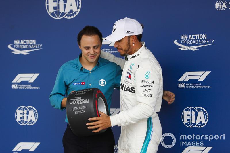 20. GP Brasil - Pole: Lewis Hamilton