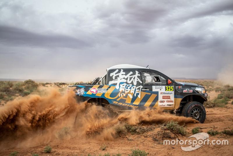 #325 Overdrive Racing Toyota: Yuxiang Liang, Kou Hongtao