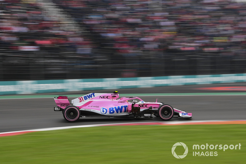 11. Esteban Ocon, Racing Point Force India VJM11