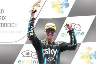 Podium: Luca Marini, Sky Racing Team VR46
