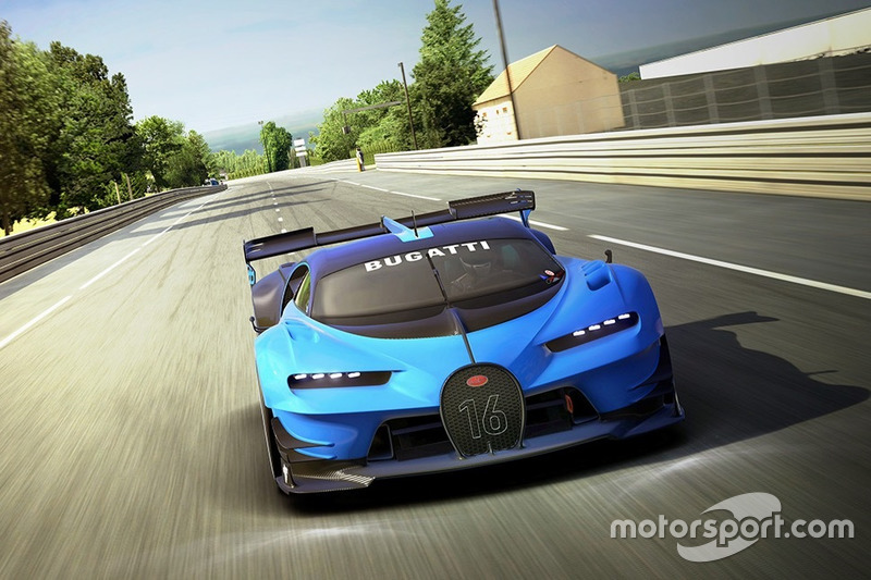 Bugatti Vision Gran Turismo (septiembre 2015)