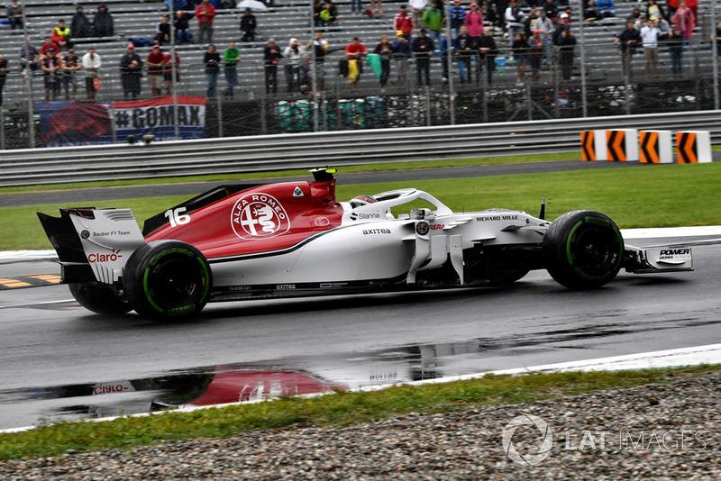 12 місце — Шарль Леклер, Sauber. Умовний бал — 7,49