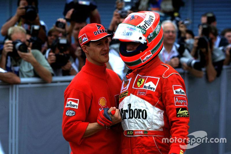 1998 – Едді Ірвайн, Ferrari