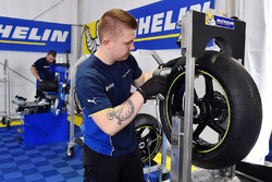 Michelin MotoGP pruebas de neumáticos