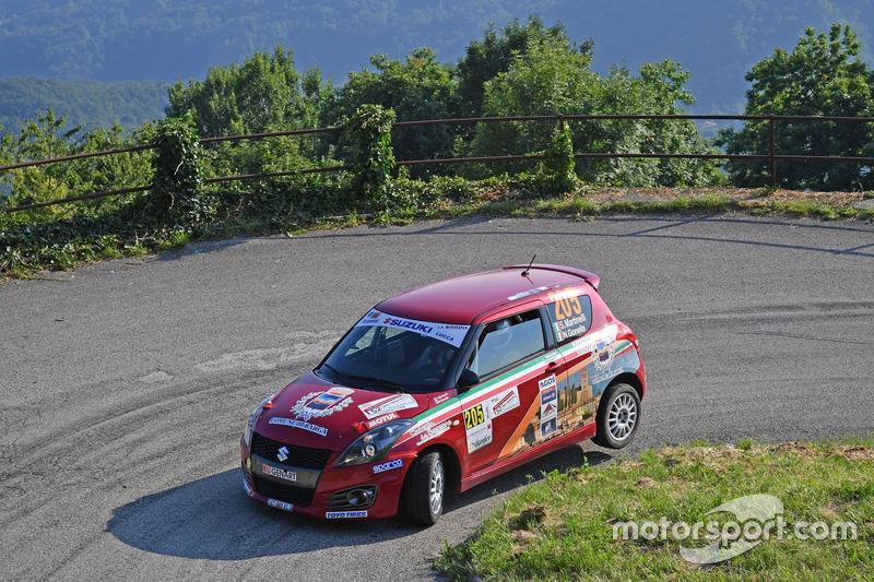 Stefano Martinelli, Nicolò Gonella (Suzuki Swift R Trofeo R1 #205,