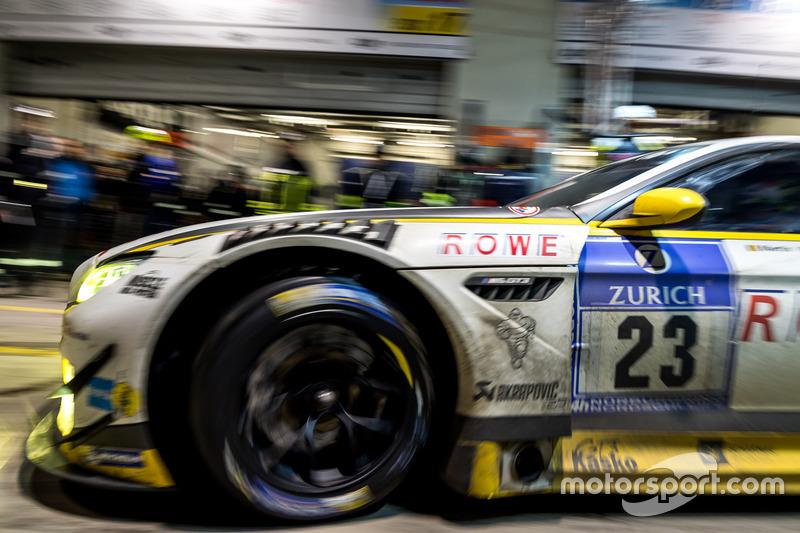 #23 ROWE Racing, BMW M6 GT3: Alexander Sims, Philipp Eng, Maxime Martin, Dirk Werner