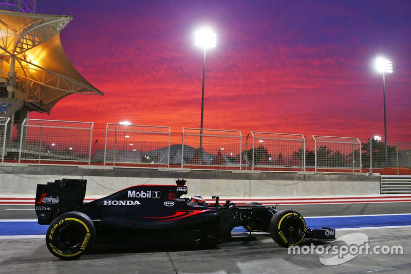 GP Bahrein 2016, Stoffel Vandoorne, Mclaren-Honda