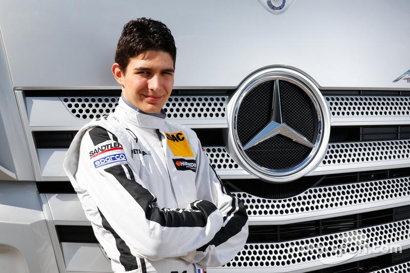 Esteban Ocon, Mercedes-AMG Team ART
