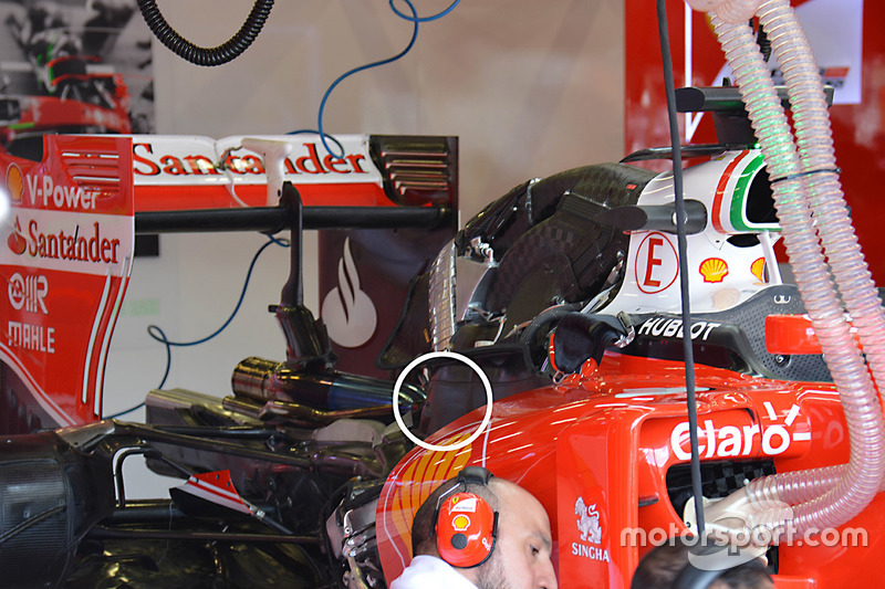 Ferrari SF16-H: Turbolader