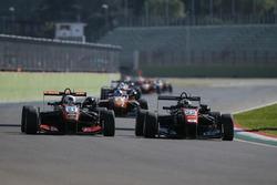 Anthoine Hubert, Van Amersfoort Racing Dallara F312, Mercedes-Benz; Joel Eriksson, Motopark Dallara
