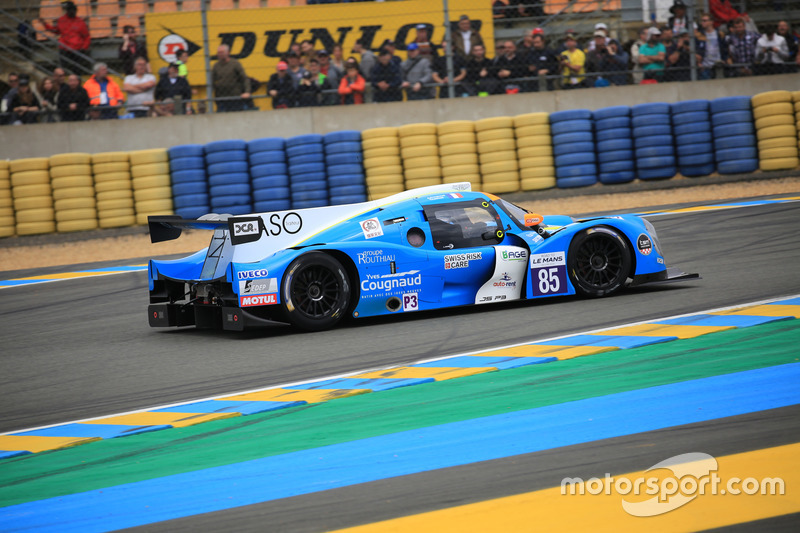 #85 DC Racing Ligier JPS3 - Nissan: Thomas Laurent, Alexandre Cougnaud